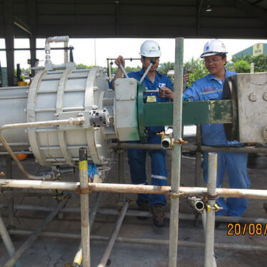Maintenance and install the actuator for valve for Ca Mau Fertilizer Plant