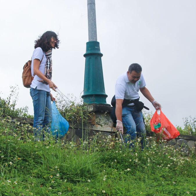 "Tte Deployed The Campaign ""No Single Use Plastics"" Arround Tuyen Lam Lake - Da Lat City"