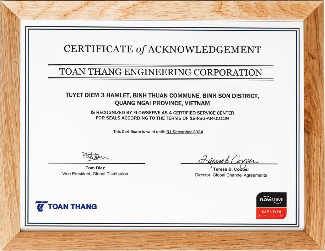 CSC - CERTIFICATE OF ACKNOWLEDGEMENT
