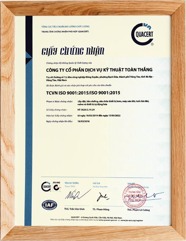 TTE TCVN ISO 9001:2005