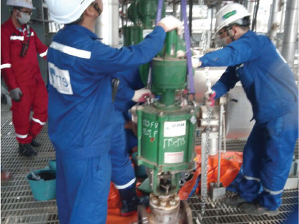 NSRP Shutdown Maintenance for Control valve & Instrument