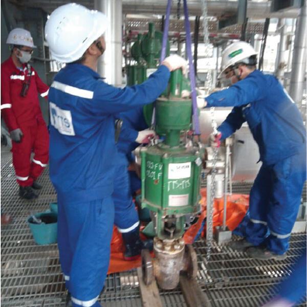 NSRP Shutdown Maintenance for Control valve & Instrument